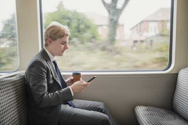 commuting on the train