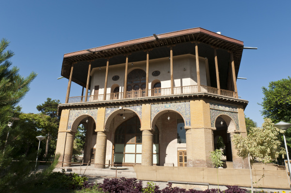 pavilion chehel sotun or forty saul