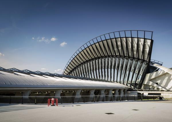 famous lyon airport tgv railway station