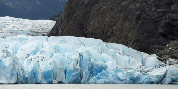 grey lake and grey glacier torres