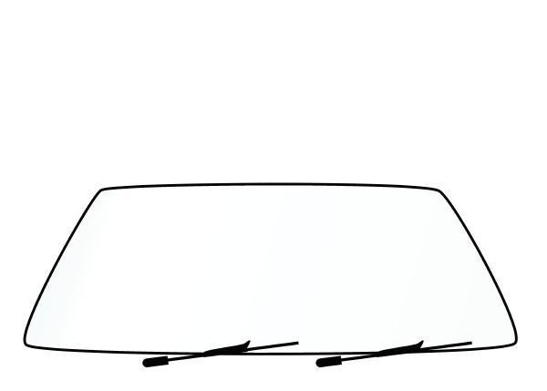 blank vehicle windshield