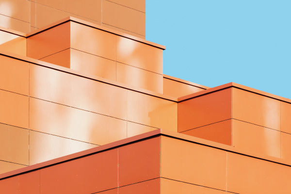 modern building facade detail abstract architectural