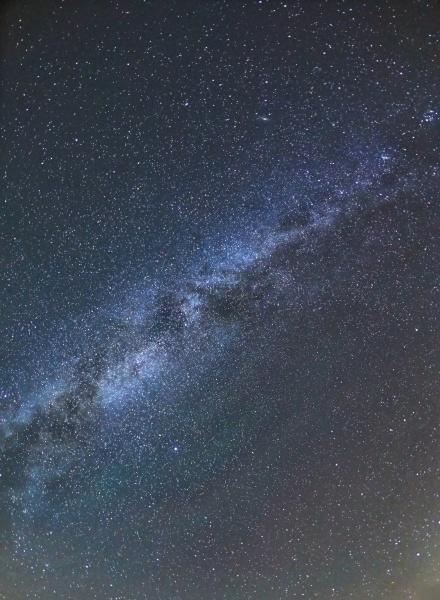 starry sky milky way