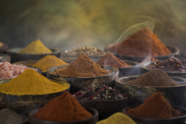 cooking ingredient spice and smoke