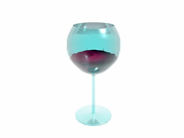 wineglass with liquid
