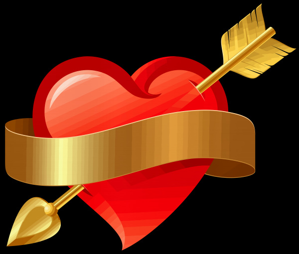 heart arrow love valentine romance cupid