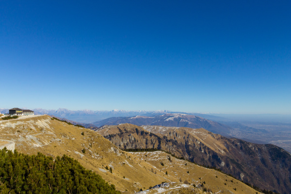 mountain landscape from italian alps