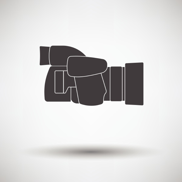 icon of premium photo camera on