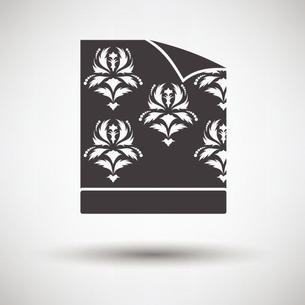 wallpaper icon on gray background round