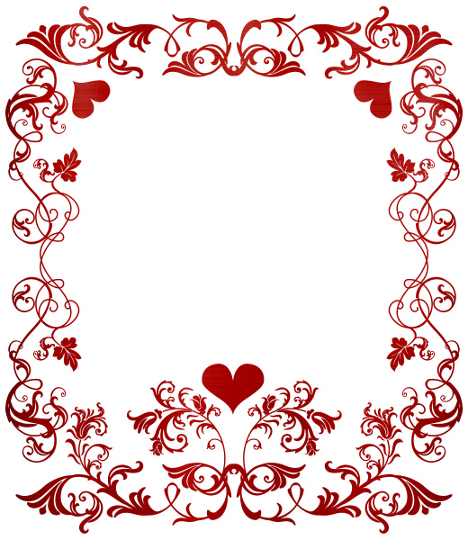 hearts fame happy valentine day red