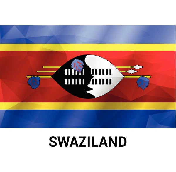swaziland independence day design vector