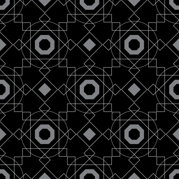abstract, background, geometric, seamless, pattern., vector - 26337255
