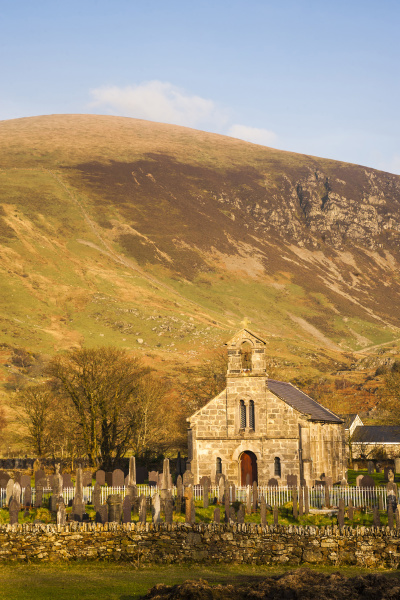 church in snowdonia national park north