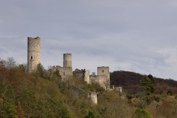 the brandenburg castle near eisenach in