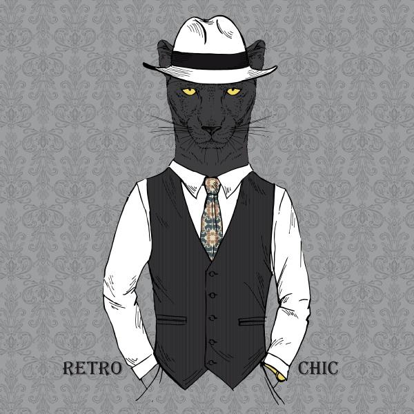 black, leopard, boy, dressed, up, in - 26763781