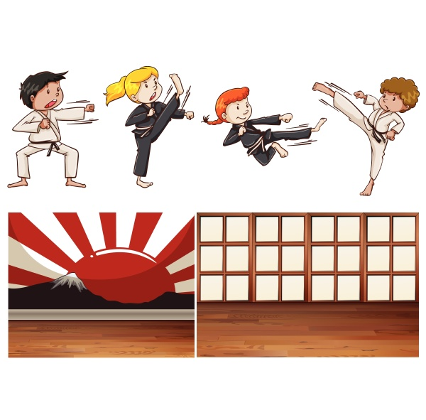 mix martial art theme mix