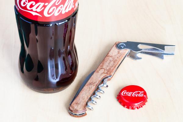 coca cola glass bottle used