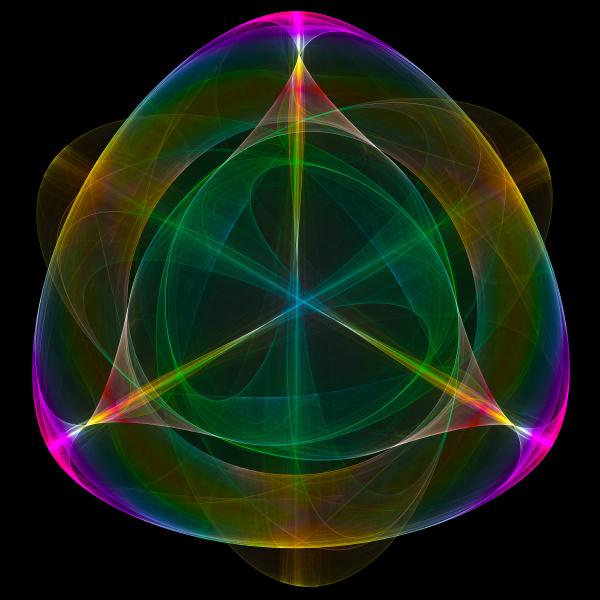 abstract symmetrical symbol
