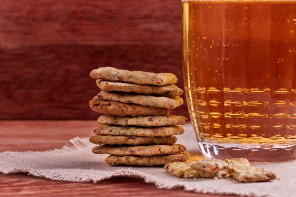 mug of beer and snack
