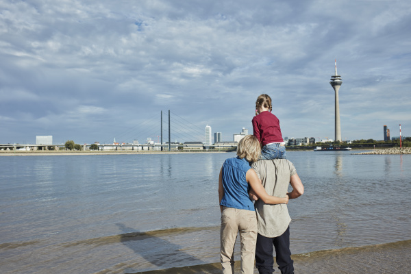 germany duesseldorf family with