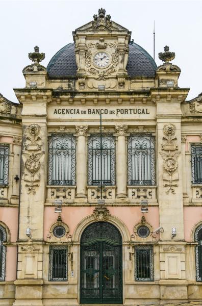 bank building coimbra coimbra district portugal