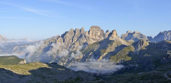 italy dolomites bozen province the mountains