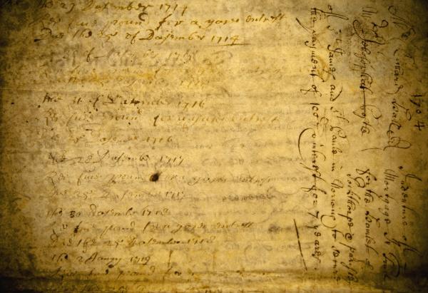 antique document