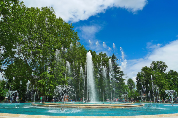 margaret island fountain