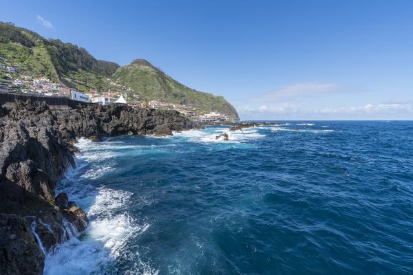 view of porto moniz and its