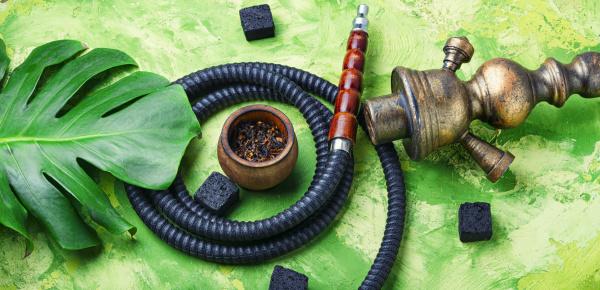 smoking arab hookah