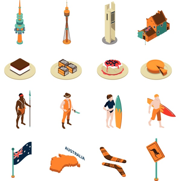 australian tourists attractions and national symbols