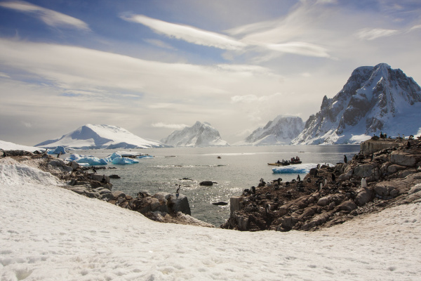 lemaire channel antarctica wide shot including
