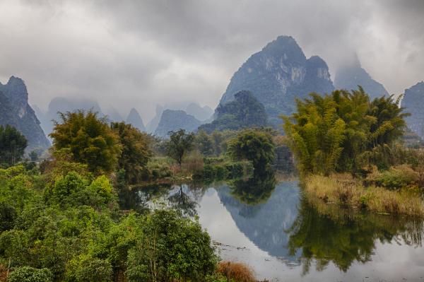 china yang shou mountains of the