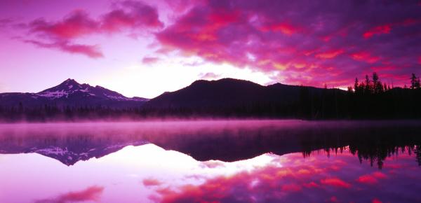 sparks lake deschutes national forest oregon