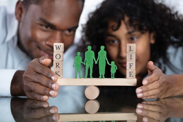 couple protecting work and life balance