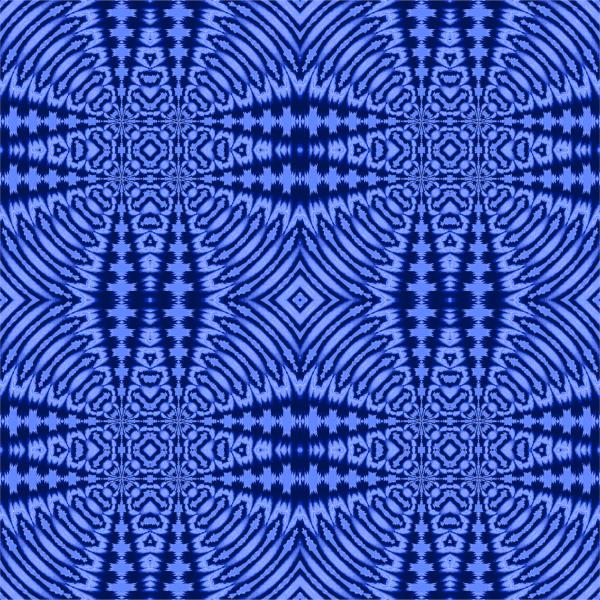 regular futuristic diamond pattern in blue
