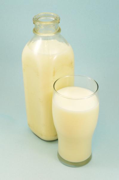 old fashioned milk bottle