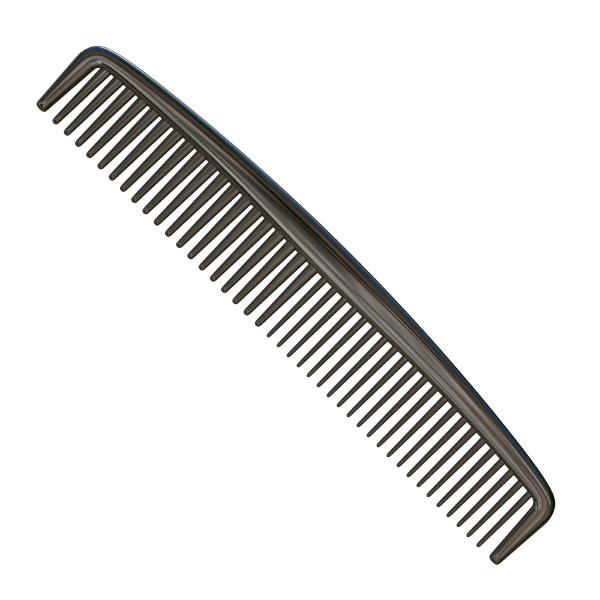 plastic comb 3d