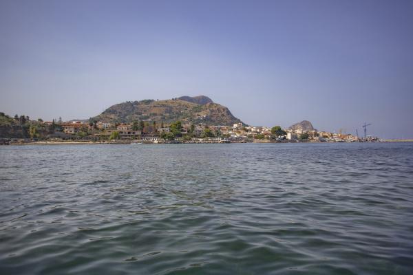 porticellos coastline in sicily