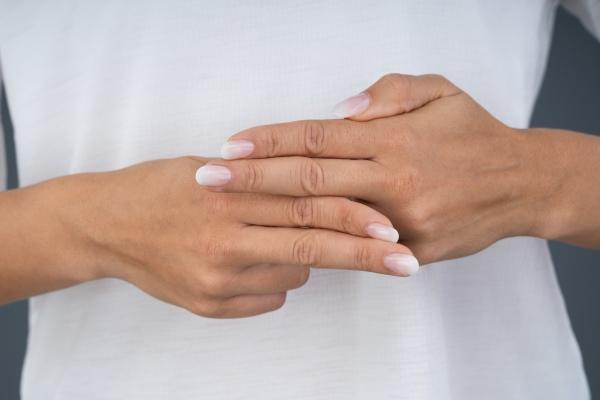 woman using sign language to communicate