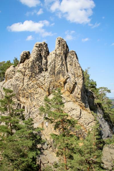 resin mountains rocks of
