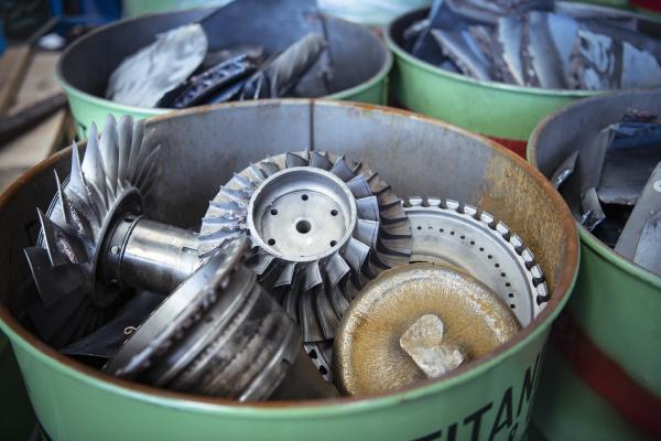 scrap titanium aircraft parts in titanium