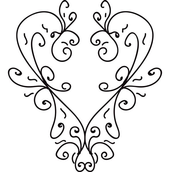 a minimalistic line art vector or