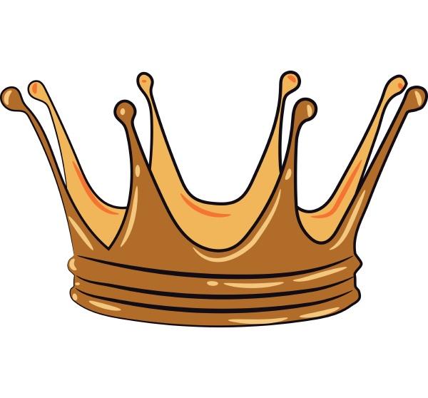 a royal s head ornament vector