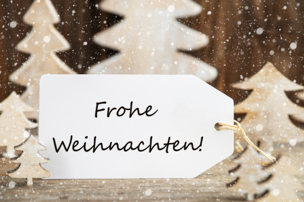 christmas tree label frohe