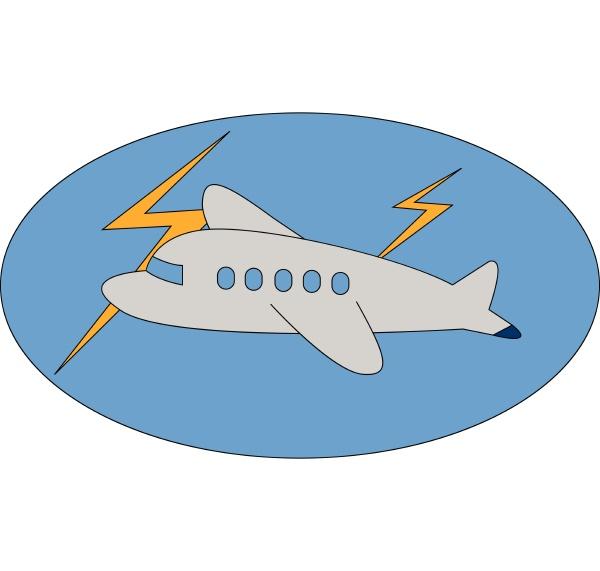 a small aircraft vector or