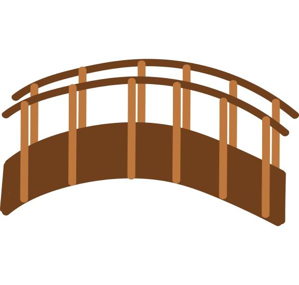 bridge hand drawn design illustration vector