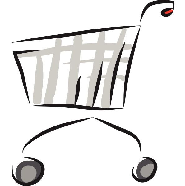 trolley hand drawn design illustration vector