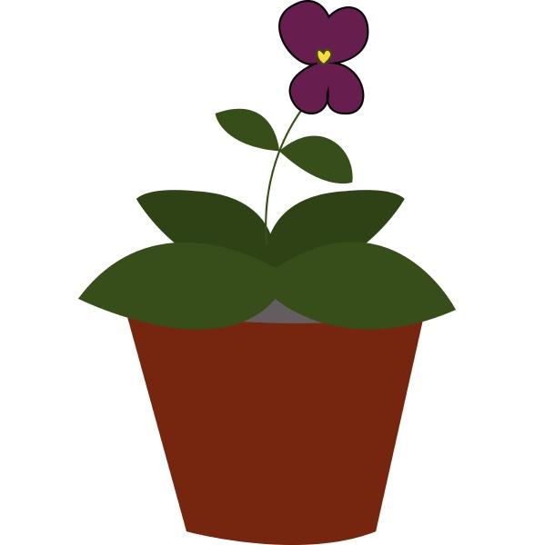 violet hand drawn design illustration vector