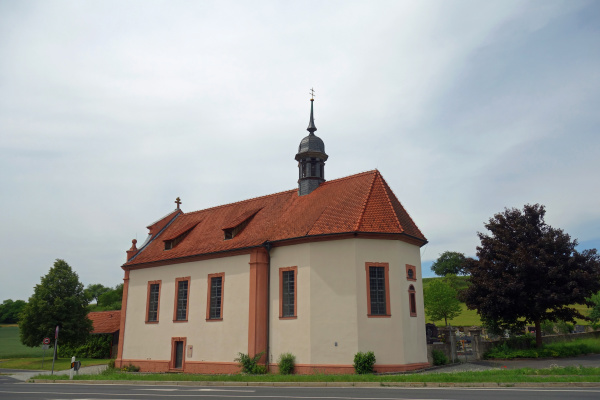 holy cross chapel in machtilshausen